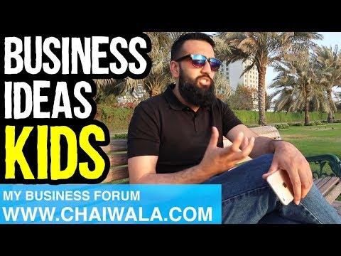 33Business Ideas For Kids Children of Pakistan India | Azad Chaiwala Show