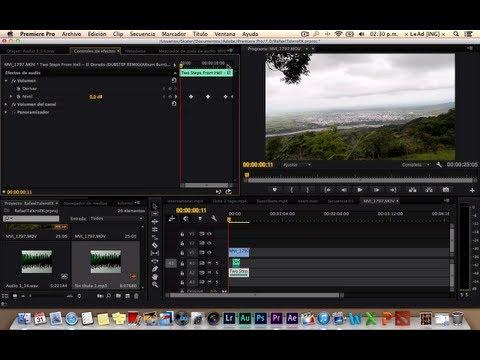 Como trabajar bajar y subir el audio en Premiere PRO ( Trabajando con Keyframes )