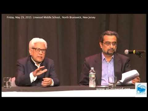 Javed ahmed ghamidi, Q&A Ghamidi Sb Linwood Middle School, North Brunswick New Jersey-2015