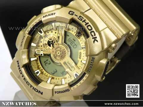 Casio G-Shock Gold Edition Analog Digital 100M Watch GA-110GD-9A ... 81b500302669
