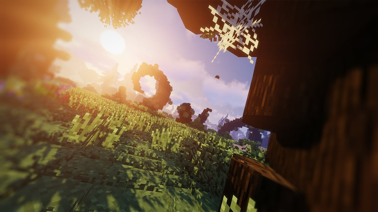 12K RESOLUTION Modded Minecraft Gameplay With Ultra Shaders (Yes Really)