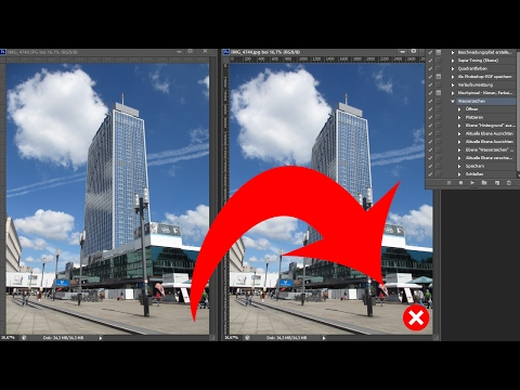 Wasserzeichen Mit Stapelverarbeitung Einfügen – Photoshop-Tutorial