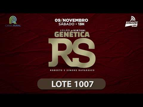 LOTE 1007