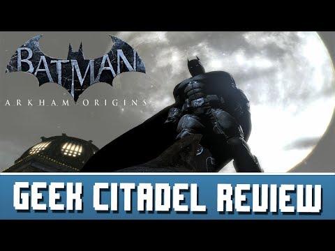 Geek Citadel Reviews - Batman: Arkham Origins