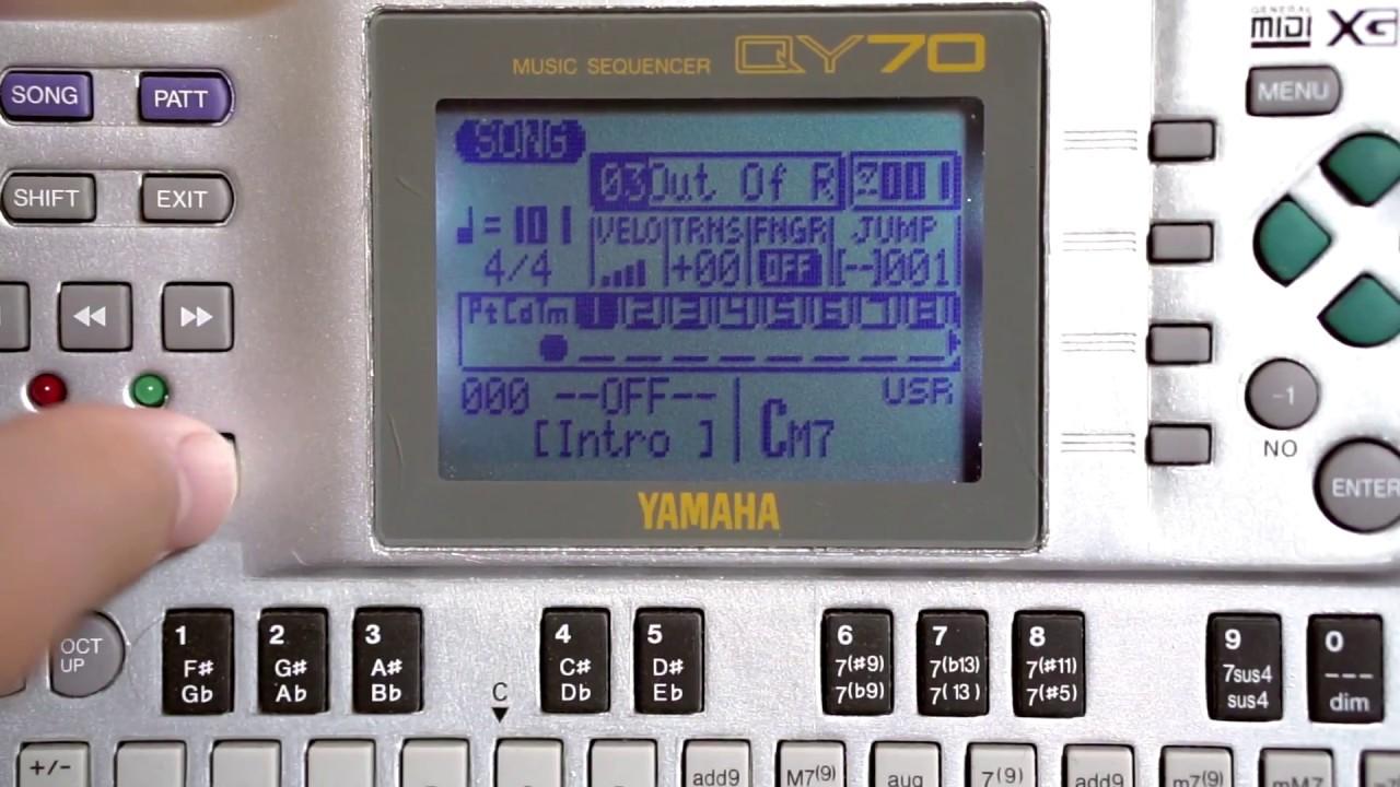Yamaha XG MIDI Files by David J Reading - Display Letter