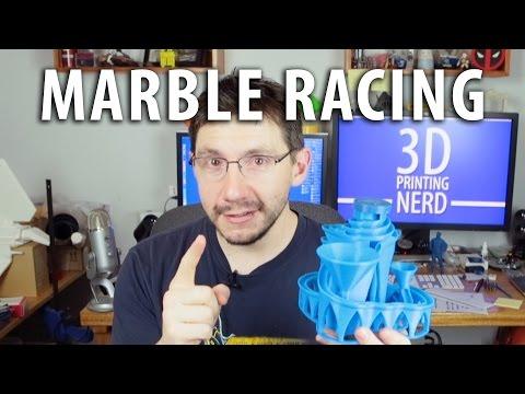 3D Printing A Marble Machine