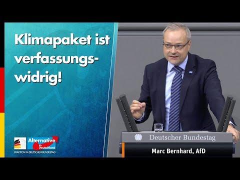 Klimapaket ist verfassungswidrig! - Marc Bernhard