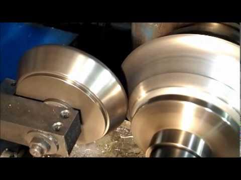 VanK Wheels - How Wheel Half is Made