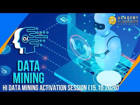 HI Data Mining Activation session (15.10.2020)