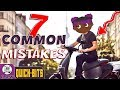 7 Common Mistakes Scooter Riders Make