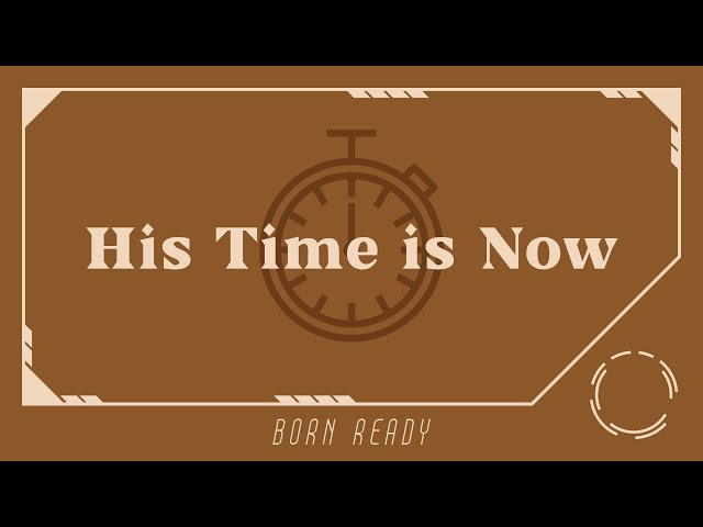 His Time Is Now | Peter Kwon