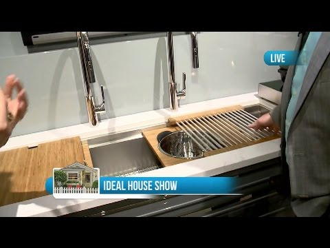 Ideal Home Show: The Galley Kitchen Workstation