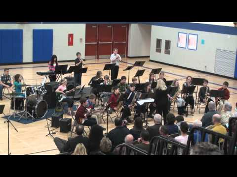 Rock the House - Jazz Band II-Winter Band Concert-02-21-12.mp4
