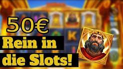 Rein in die Slots!🔥 Mit 50€ im Online Casino | Deutsch