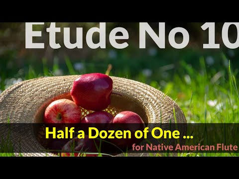 Native American Flute Etude No. 10 - Half a Dozen of One ...