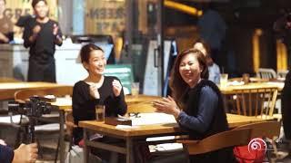 "【Flashmob】Surprise proposal in Japan "" Wedding day "" Watari Azusa"
