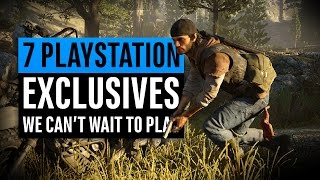 7 Playstation Exclusives We Can't Wait To Play