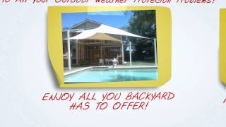 Shade Sails Adelaide - 1300 818 864 - Discover The Weathersafe Outdoor Shade Sail Difference.