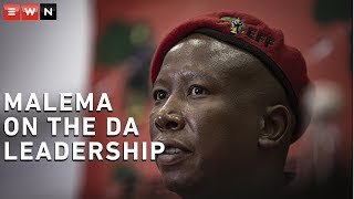 EFF leader Julius Malema said the party was ready to govern the City of Joburg and they wanted the DA to support their mayoral candidate instead.