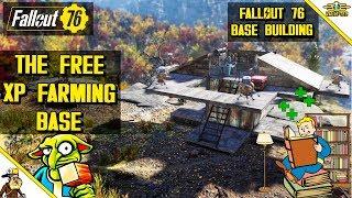 Fallout 76 Base Building - The Auto XP Farm Base (fallout 76 Workshops)