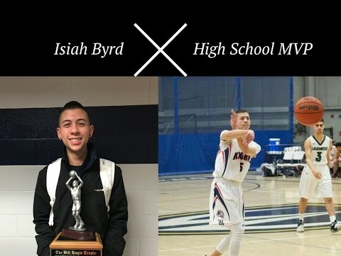Isiah Byrd High School MVP