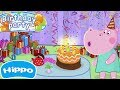 Hippo 🌼 Kids birthday party: Daddy Hippo's party 🌼 Cartoon game for kids