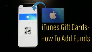 itunes gift cards-how to add funds