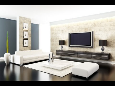 Best modern living room design for small living room youtube for Modern small apartment living room ideas
