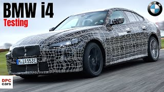 Electric BMW i4 Final Testing Before Reveal