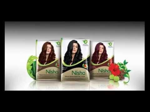 Nisha Hair Color With The Herbal Protection Of Amla Shikakai