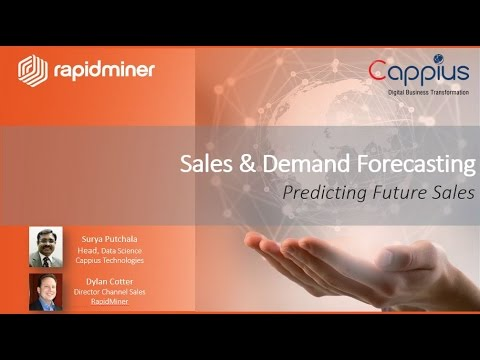 Building a Sales Forecasting Model with RapidMiner