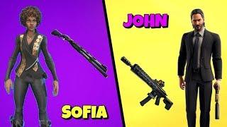 NEW FEMALE JOHN WICK SKIN in Fortnite