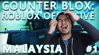 Kejap Power Kejap Tak ! Counter Blox: Roblox Offensive #1 | Malaysia