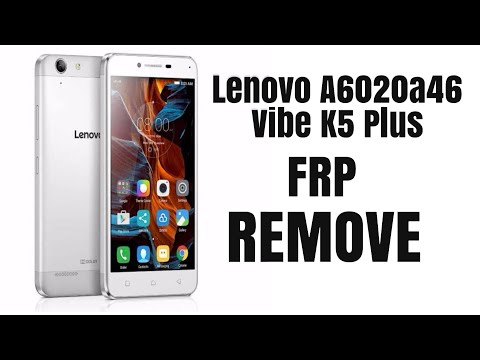 Lenovo K5 Vibe FRP Bypass