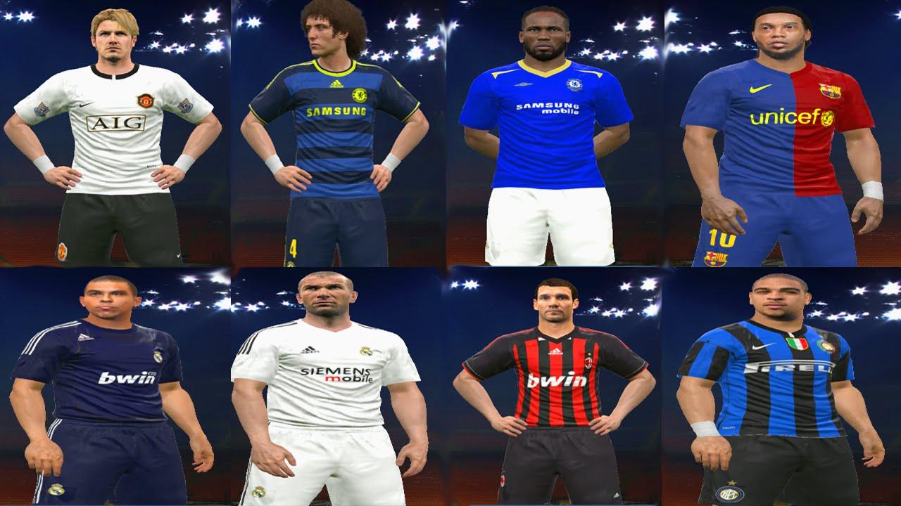 9b2398d246 PES 2016 - JVPES PATCH TEAM CLÁSSICOS - PREVIEW 2 - YouTube