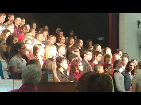 Zanesville Middle School Choir Concert 2015