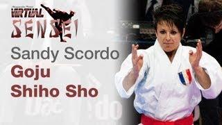 Sandy Scordo - Kata Goju Shiho-Sho - Final - 21st WKF World Karate Championships Paris Bercy 2012