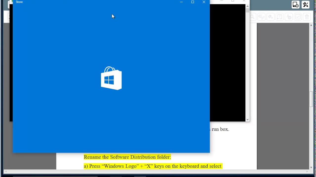 Fix error code 0X8024001e when updating Windows, or installing apps from  Windows Store