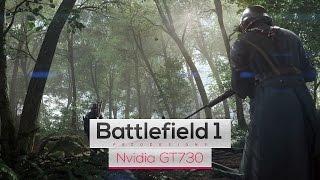 Battlefield 1 on Intel Core 2 Quad Q8400 & Nvidia GT730