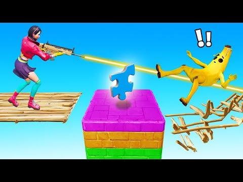 BRIDGE Vs BRIDGE! Build To The CENTER Minigame (Fortnite Creative)