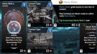 Assassins Creed Identity Heroic Shop & Ranks Tutorial