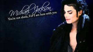 Michael Jackson - You Are Not Alone مترجم