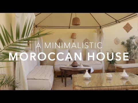 Inside A Minimalistic House in Morocco - RIAD DAR JABEL - Marrakech