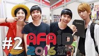 AFAID 2016 #2 - Anime Festival Indonesia - MiawAug Vlog