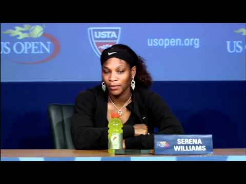 2011 US Open Press Conferences: Serena Williams (First Round)