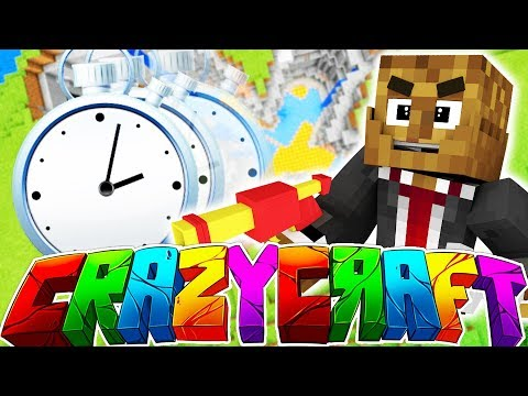 SPEED RUN MINECRAFT CRAZY CRAFT - FASTEST TIME EVER!