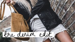 The Denim Edit | Monochrome Denim Pieces for Autumn/Winter | Copper Garden