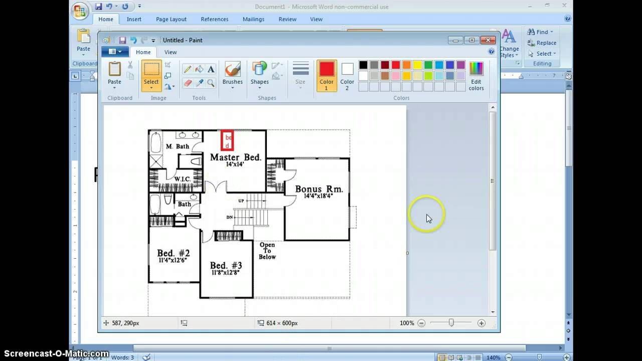 How to make a floor plan for begginers youtube How to make a floor plan