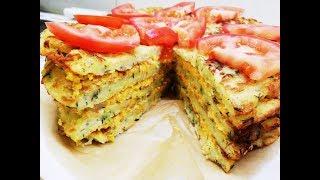 Кабачковый торт. Очень вкусный рецепт из кабачков.