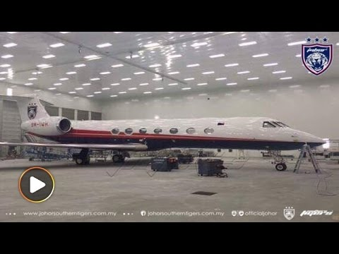 JDT unveils photos of private jet for players and staffs